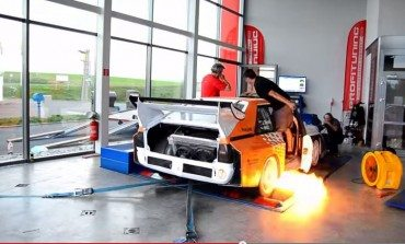 Audi S1 quattro on the dyno