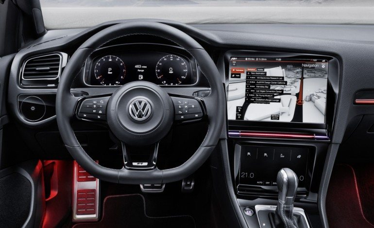 The VW Golf R Touch uses Gesture's ….. Wait What?