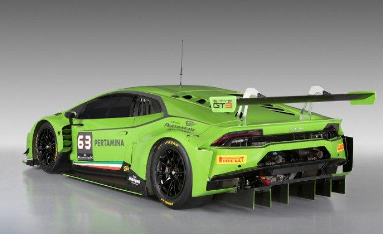 Lamborghini Huracan GT3 racer unveiled