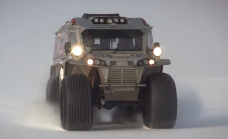 The Ultimate Zombie Apocalypse All Terrain Vehicle is Here