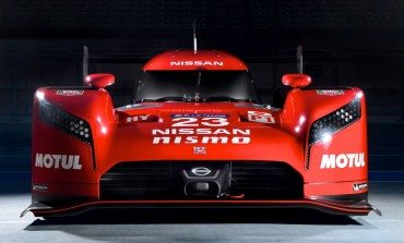 Nissan unveil their Le Mans Challenger During The Super Bowl