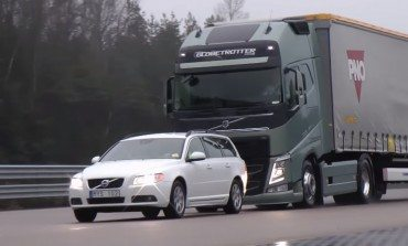 Volvo Trucks Have Mad Skills, New Emergency Braking System