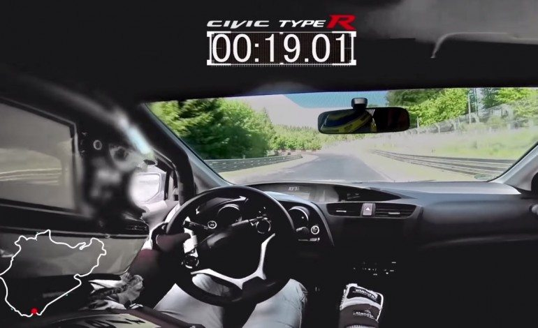 2015 Civic Typre R Smashes FWD Record At The Nurburgring