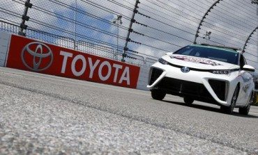 Nissan Launches Mirai Hydrogen Cell Car at NASCAR