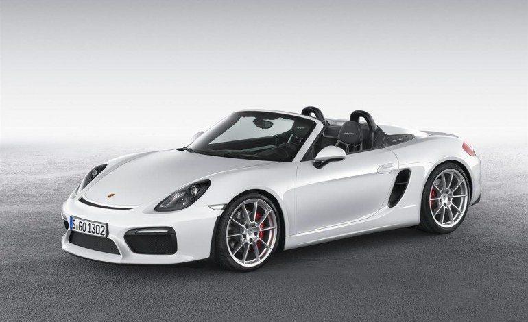 Itsy Bitsy Porsche Boxster Spyder