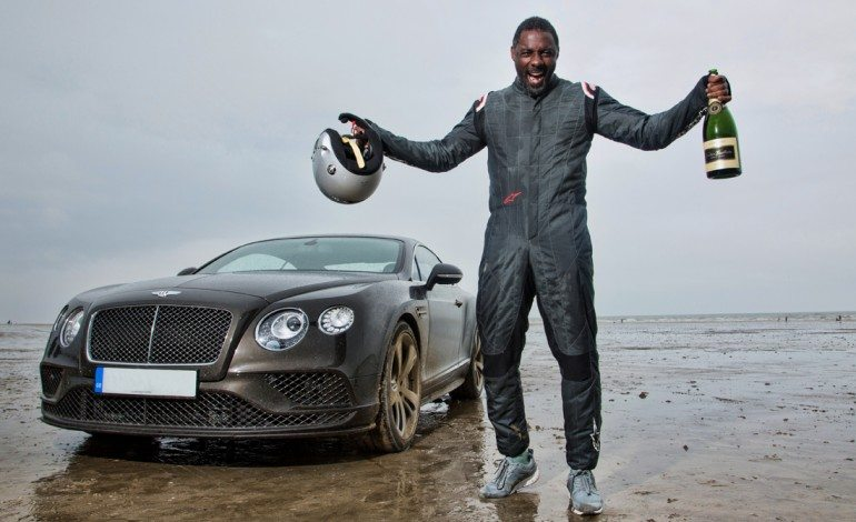 Idris Elba + Bently = Smashing 88 Year Old Speed Record
