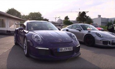 Chris Harris and the Porsche GT3 RS
