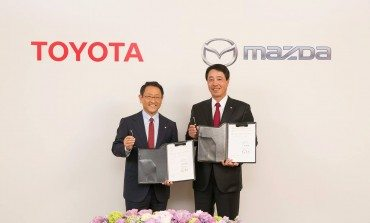 Toyota and Mazda Sign Partnership Agreement