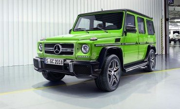 Mercedes Updates G-Class For 2015