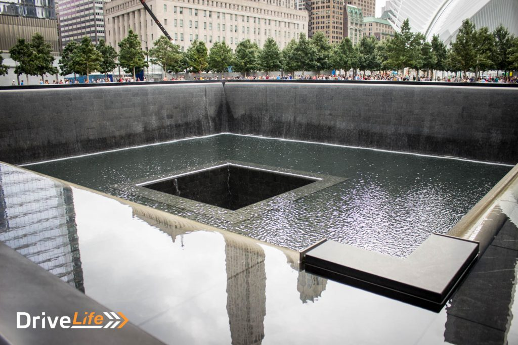One of the Reflecting Pools at the World Trade Center site