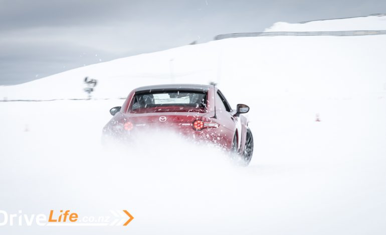 Mazda SkyActiv Vehicle Dynamics – A day at the Snow Farm