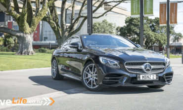 2018 Mercedes-Benz 560 S Class Coupe - Car Review - Driving in first class