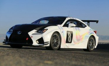 Lexus RC F GT Heads To PIKE'S PEAK