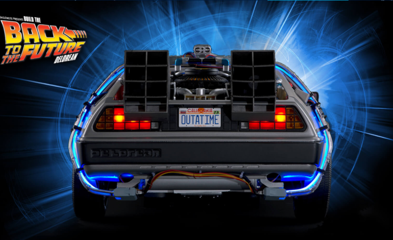 Project Gigawatt - Back to the Future Delorean - Issue no.1 - 10