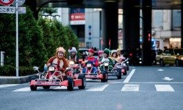 Cosplayers Do Mario Kart Live In Tokyo