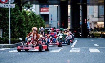 Cosplayers Do Mario Kart Live In Tokyo