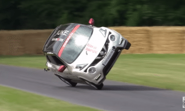 Nissan Juke RS Nismo does an interesting run at Goodwood 2015!