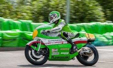 VIP's Rea and Ballington wow crowds at Schottenring Kawasaki Days
