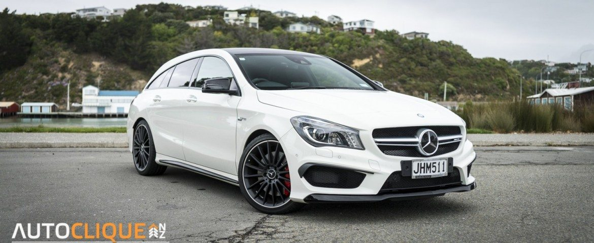 2015 Mercedes-Benz CLA 45 AMG Shooting Brake – Car Review -The Rich Boy of The AMG Country Club