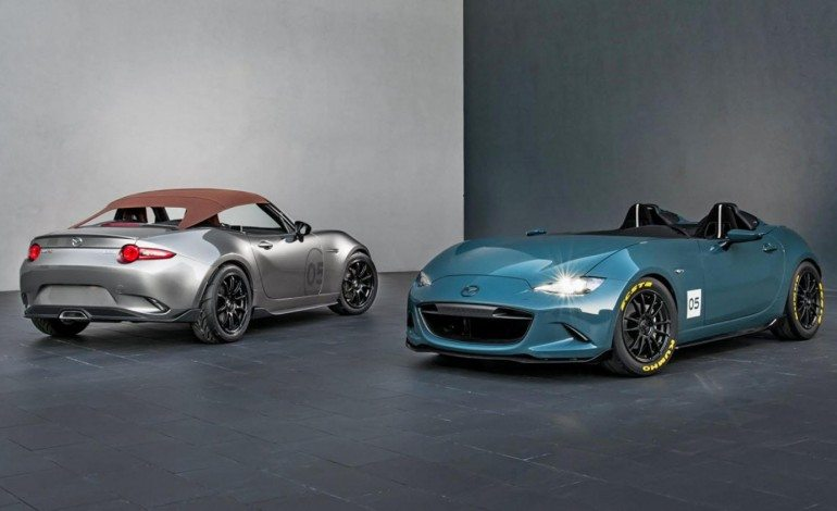 Mazda Shows Stripped Out MX-5s at SEMA