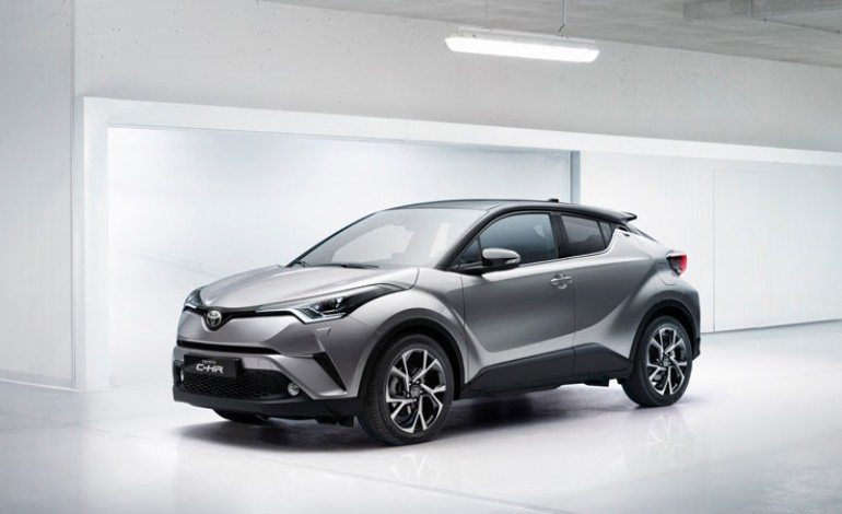 Funky C-HR Coming To Toyota's Lineup