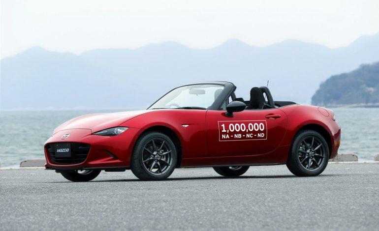 Press Release – Mazda MX-5 Production Hits One Million Units