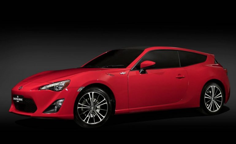Toyota Adds Style and Practicality to 86 With Shooting Brake