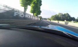 A Lap of Circuit De la Sarthe At Le Mans In An Aston Martin Vulcan.