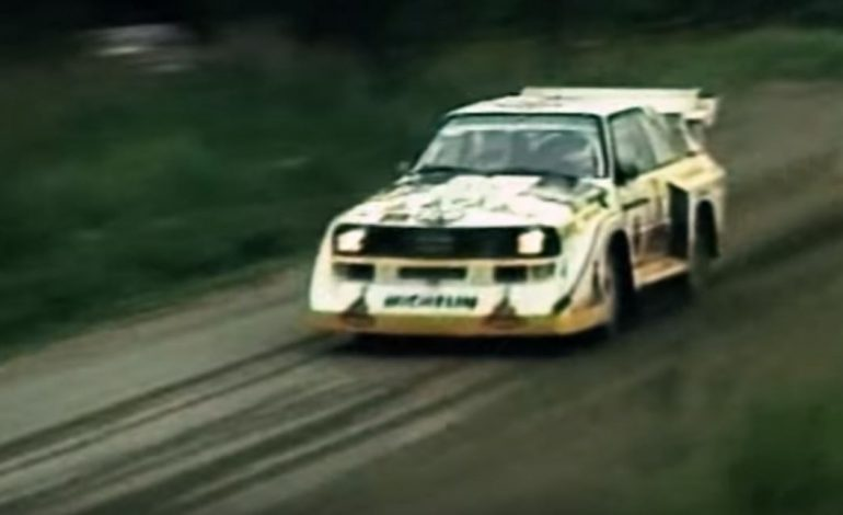 A treat for your ears – Group B Rally