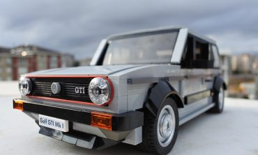 LEGO Volkswagen Golf MK1 GTI - I Want One !!