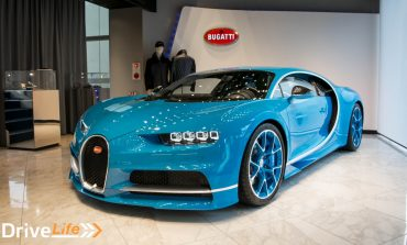 Up Close and Personal With A Bugatti Chiron
