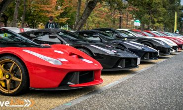 Ferrari Cavalcade Japan - Part 1: Old Meets New, West Meets East at Heian Shrine