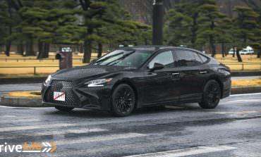 2018 Lexus LS500 Spotted In Tokyo