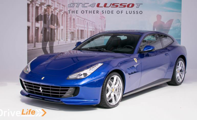 Ferrari GTC4Lusso T Japan Launch - Maranello's First V8 Four-Seater