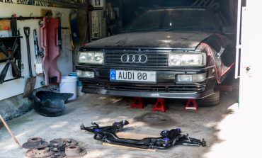 Project Rusty – Rob's Audi UR-Quattro – Part 25: More Suspension, and Brakes