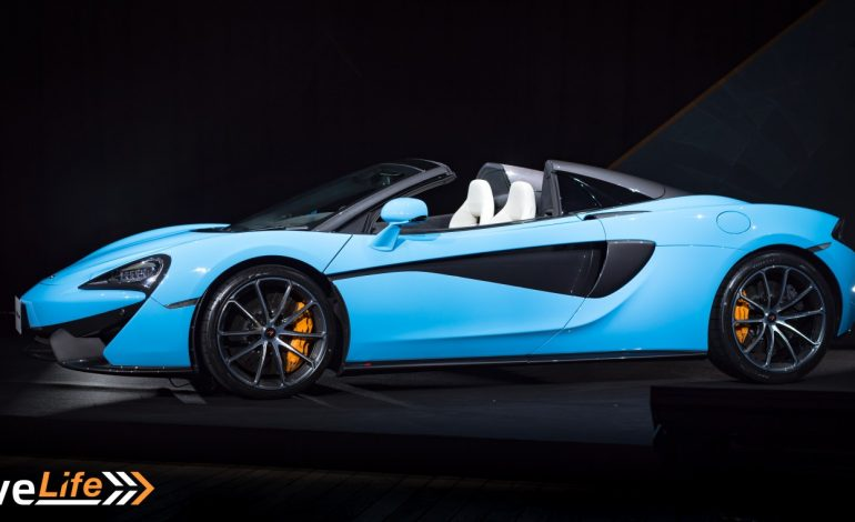 McLaren Brings Out Legends For 570S Spider Launch in Japan