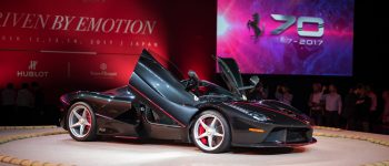 Ferrari's 70th Anniversary Celebrations Lands in Japan