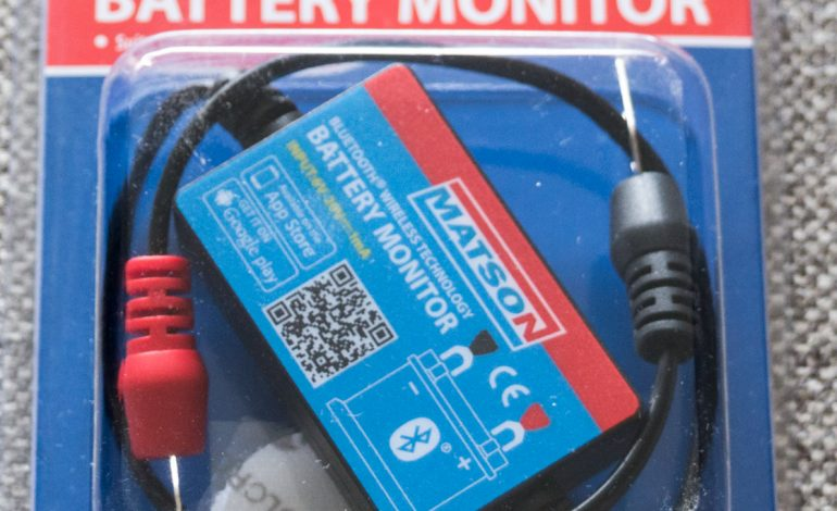 Product Review – Matson Bluetooth Battery Monitor