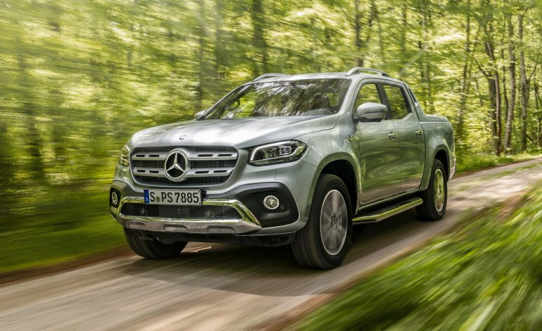 Mercedes-Benz X-Class 350d V6 due December