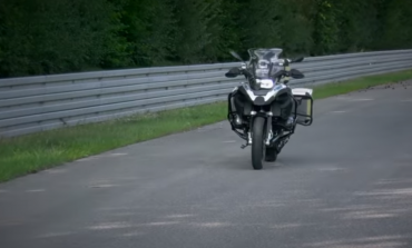 BMW self-driving motorbike