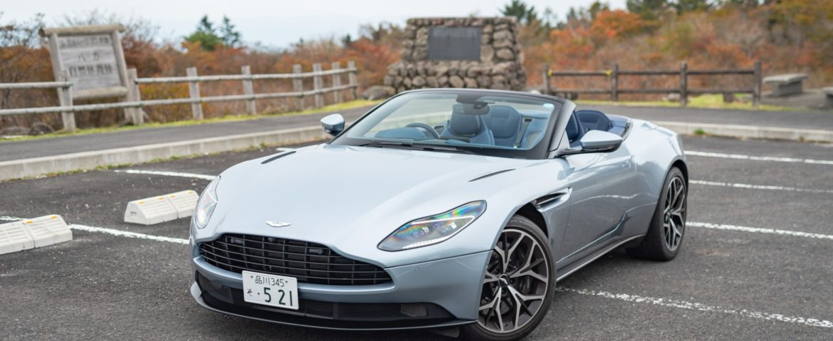 2018 Aston Martin Db11 Volante Car Review The Sportiest Grand