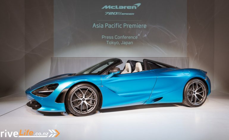 2019 McLaren 720S Spider Asia Pacific Launch – Welcoming The 325 kph Drop Top