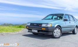 1986 Toyota Corolla GT Liftback - blast from the past