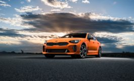 Neon Orange Kia Stinger GT Sport released