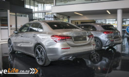 Mercedes-Benz A-Class Sedan New Zealand Launch