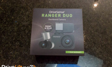 DriveSense Ranger Duo Dash Cam – Product Review -  Unboxing and install