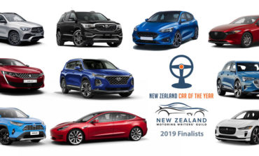 Three electrics plug into New Zealand Car of the Year