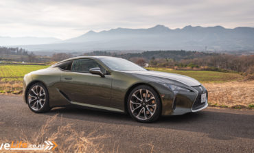 Five Things About the 2019 Lexus LC500