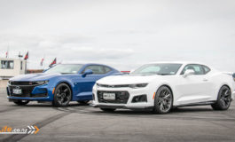 Chevy Camaro SS and ZL1 Track Drive