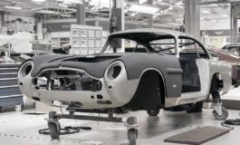 Deliveries of Aston Martin DB5 this year